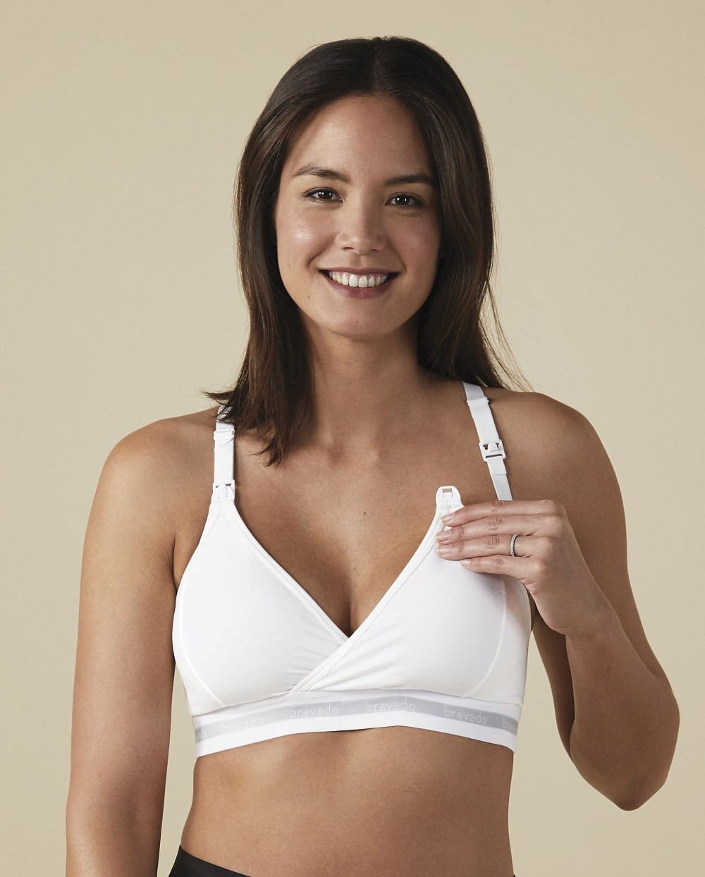 8813d912157 Bravado Original White Nursing Bra For Cups B-D Sizes