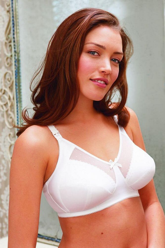 835713548757f Royce Charlotte White Spot Mesh Nursing bra Style 822 £25.50 - Royce ...