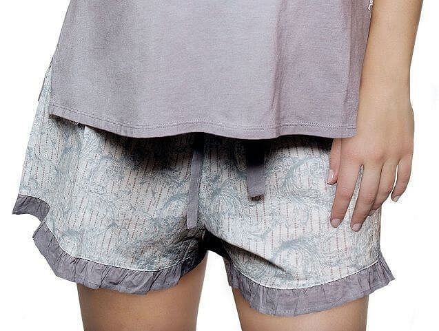 Hotmilk Lost In A Moment Pyjama Shorts