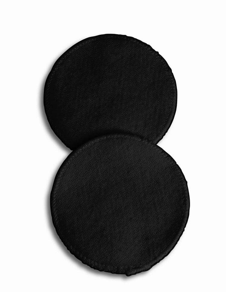 Carriwell Black Soft Touch Cotton Washable Breast Pads Code 129
