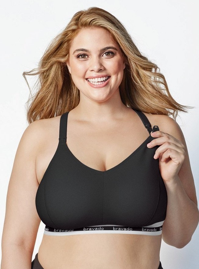 f7773032b26a6 Bravado Original Full Cup Black Nursing Maternity Bra