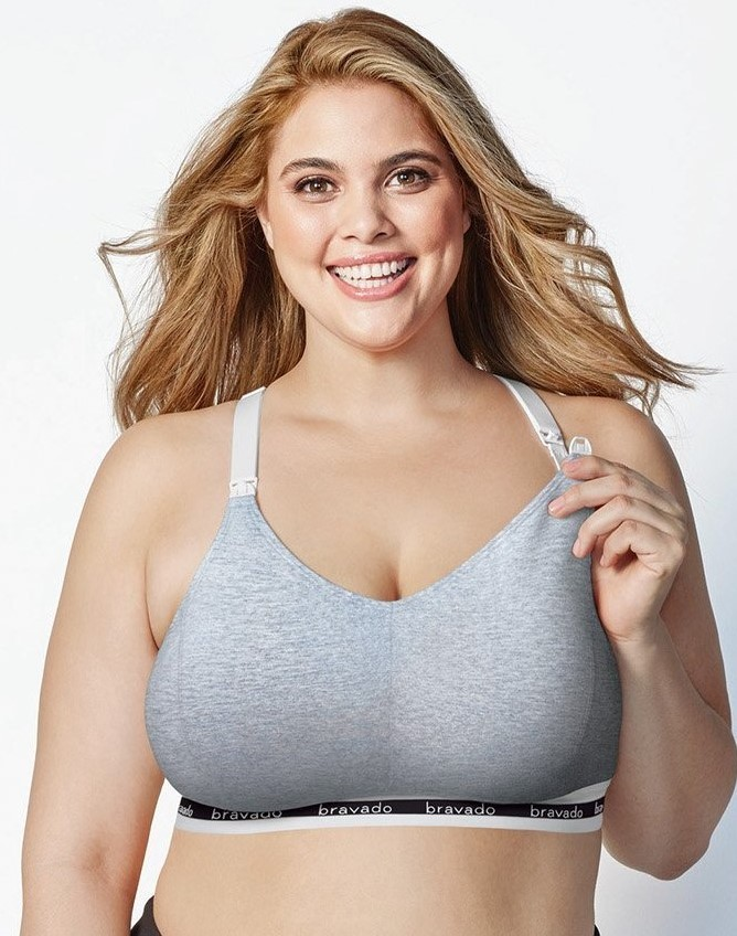 Bravado Nursing Bra Original Full Cup Dove Heather