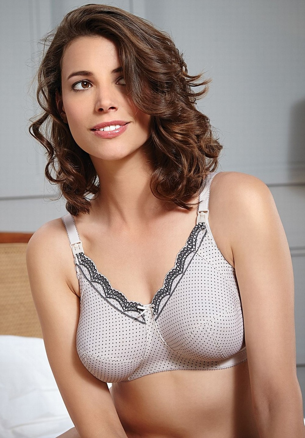 33da2f54ac Royce Ava Nursing Bra - Cream   Black Spot